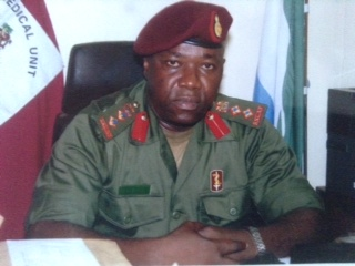Brigadier General Prof. Dr. Foday Sahr