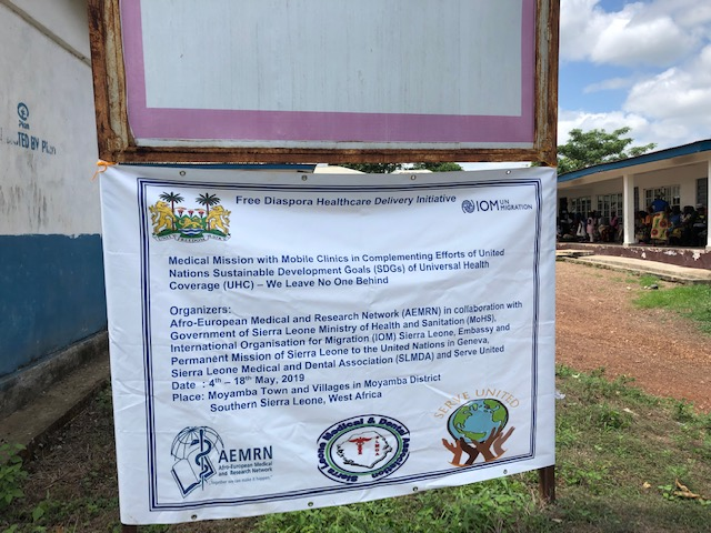Medical Mission with Mobile Clinics – Moyamba District Sierra Leone 2019